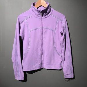 Lululemon light purple the gait keeper jacket Sz 4